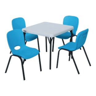 table and chairs classroom