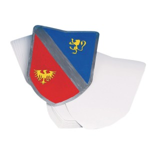 Color-Me™ Blank Shields (Pack of 36) - Image 1 of 1