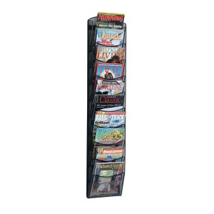 Onyx 10-Pocket Magazine Rack - Image 1 of 1