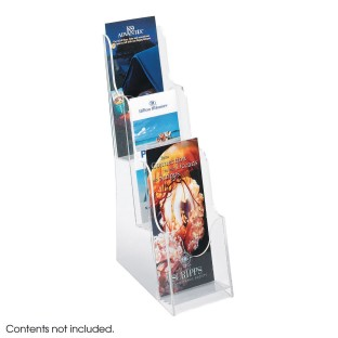 Acrylic 3-Pocket Pamphlet Display - Image 1 of 1