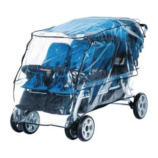 Foundations® LX6 Stroller™ Rain Shield Cover - Image 1 of 2
