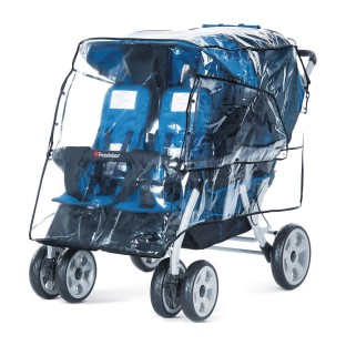Foundations® LX4 Stroller™ Rain Cover - Image 1 of 2