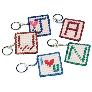 Allen Diagnostic Module Needlepoint Initial Key Rings (Pack of 24) - Image 1 of 1