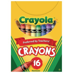 Crayola® Regular Size Crayons, Box of 16 - Image 1 of 1