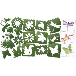Nature Stencils (Set of 10) - Image 1 of 1