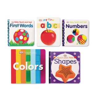 Beginning Concepts Board Book Set (Set of 5) - Image 1 of 1