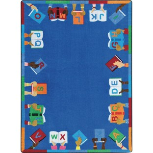 Joy Carpets Books are Handy™ Classroom Rug - Image 1 of 1