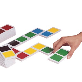 Jumbo Color Dominoes - Image 1 of 1