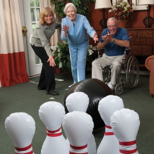 Jumbo Inflatable Bowling Set - Image 1 of 2