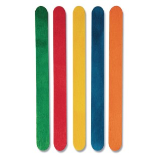 Colored Craft Sticks - Regular (Pack of 500) - Image 1 of 1