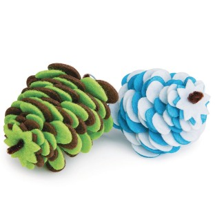 Felt Pinecone Craft Kit (Pack of 24) - Image 1 of 2