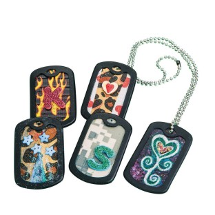 Dog Tags w/out Chain (Pack of 24) - Image 1 of 1