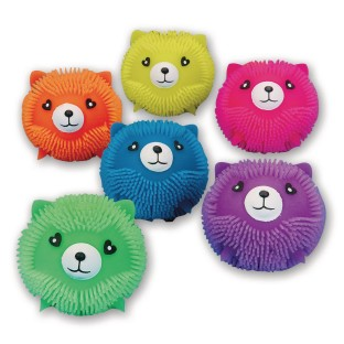 Kitty Cat Puffer Balls (Pack of 6) - Image 1 of 1