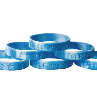 1st Place Silicone Bracelet (Pack of 24) - Image 1 of 2