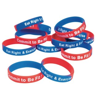 Commit To Be Fit Youth Bracelet (Pack of 12) - Image 1 of 1