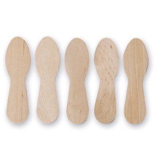 Wood Craft Spoons (Box of 1000) - Image 1 of 2