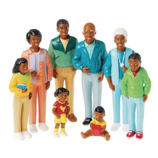 African-American Play Family - Image 1 of 1