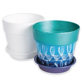 "Color-Me™ 4"" Flower Pots (Pack of 48) - Image 1 of 2"