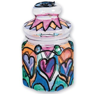 Stained Glass Jar Craft Kit - Image 1 of 2