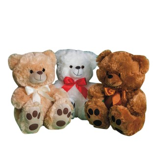 Big Feet Soft Bears (Pack of 3) - Image 1 of 1