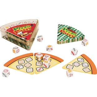 Dicecapades Pizza Party Game - Image 1 of 1
