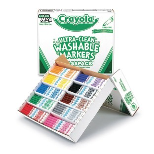 Crayola® Ultra-Clean Washable™ Fine Line Markers (Pack of 200) - Image 1 of 1