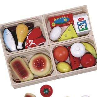 Melissa & Doug® Food Groups Set (Set of 21) - Image 1 of 1
