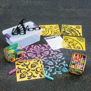 3-D Sidewalk Chalk Easy Pack - Image 1 of 1