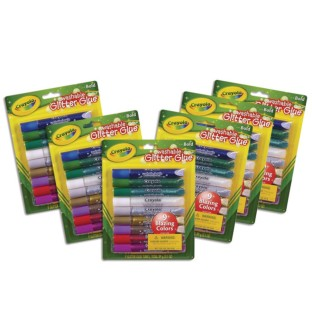 Crayola® Glitter Glue (Pack of 54) - Image 1 of 1