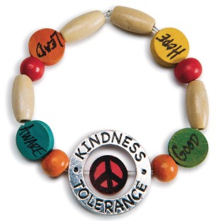 Kindness Bracelet Craft Kit (Pack of 24) - Image 1 of 2