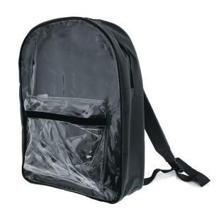 Clear Front Backpack, 15
