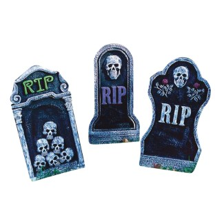 Gravestone Lawn Decoration (Pack of 6) - Image 1 of 1