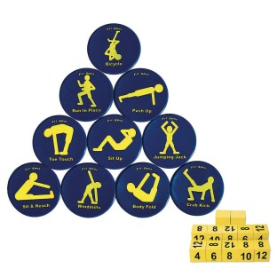 Fitness Spots Exercise Station Easy Pack - Image 1 of 1