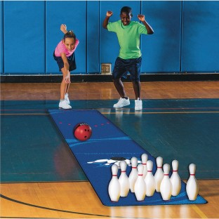 Bowling Easy Pack, 2-1/2lb. Ball & 20ft. Carpet - Image 1 of 2