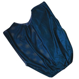 Single Nylon Youth Pinnie - Blue - Image 1 of 1
