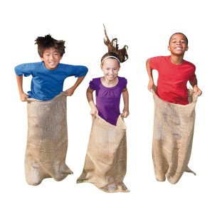 Burlap Potato Sacks (Pack of 12) - Image 1 of 4