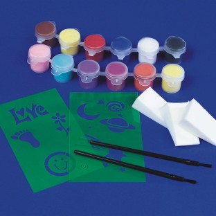Art Wear Face Painting Kit - Image 1 of 2