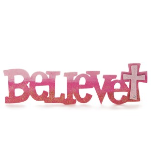 Wood Believe Sign (Pack of 6) - Image 1 of 3