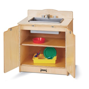 Jonti-Craft® Baltic Birch Toddler Gourmet Play Sink - Image 1 of 2