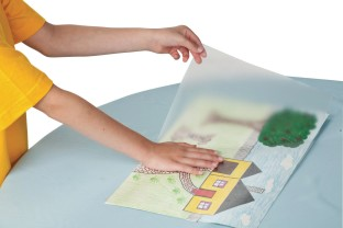 Con-Tact® Clear Covering Paper - Image 1 of 2
