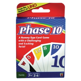 Phase 10™ Card Game - Image 1 of 2