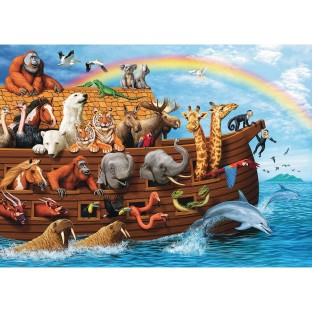 Voyage of the Ark 35-Piece Tray Puzzle - Image 1 of 1