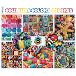 8-In-1 Puzzle Assortment, Colors - Image 1 of 1