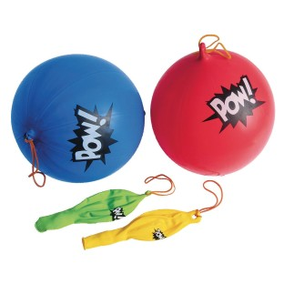 Super Hero Punch Ball (Pack of 12) - Image 1 of 1