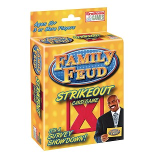 Family Feud Strike Out Card Game - Image 1 of 1