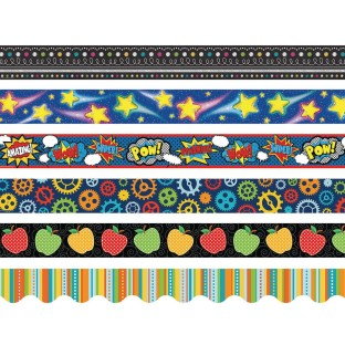 Border Trim Assortment (Pack of 6) - Image 1 of 1