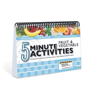 5 Minute Activities: Fruits & Vegetables - Image 1 of 1