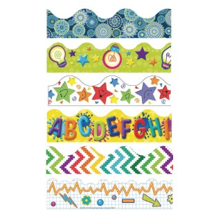 Everyday Bulletin Board Trim Pack (Pack of 6) - Image 1 of 1