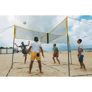 Crossnet™ 4-Way Volleyball System - Image 1 of 4
