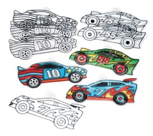 Race Car Sun Catchers (Pack of 12) - Image 1 of 1